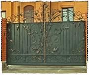 Металлические ворота,  калитки.