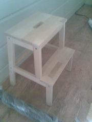 Реставрация и ремонт деревянной  мебели и лестниц!