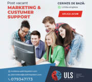 Ofertă de angajare în domeniul Marketingului
